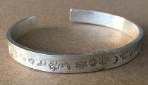 stamped cuff